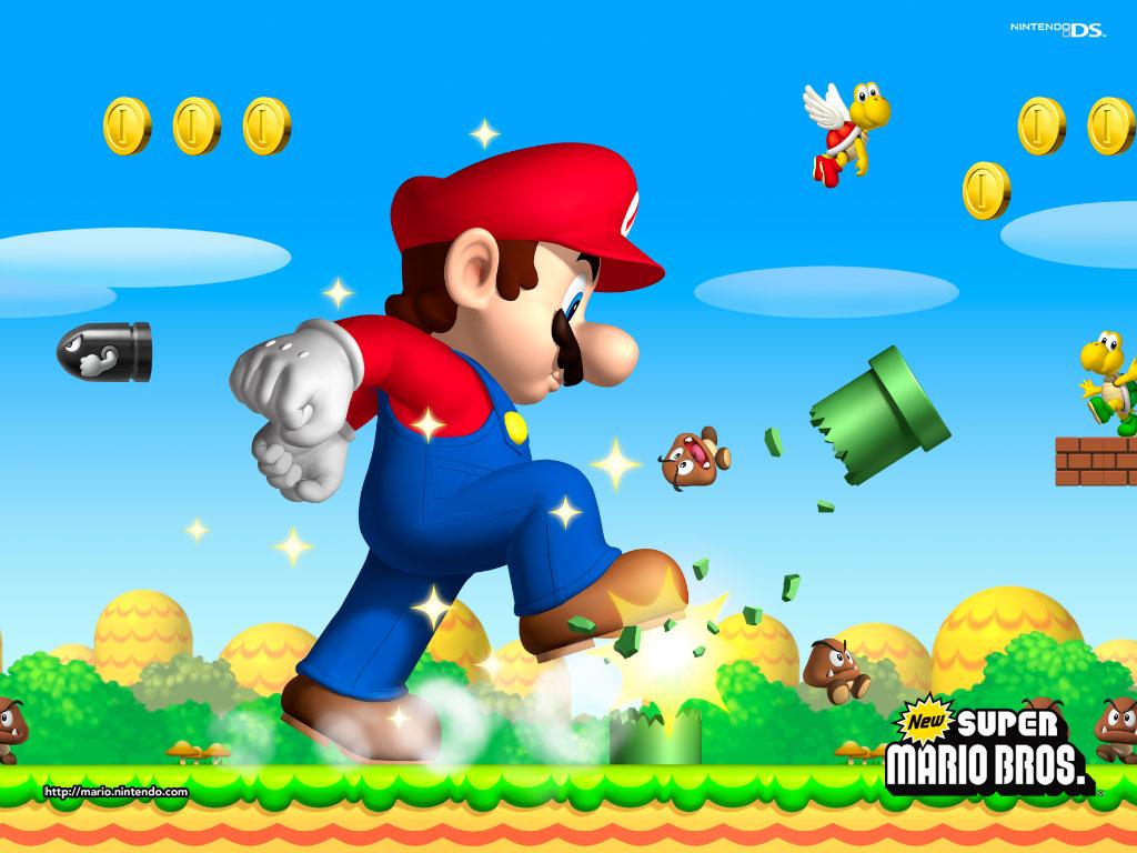 New Super Mario Bros-Descarga Mariobros