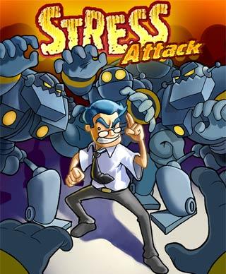 Stress Attack. Juego de lucha para móviles java