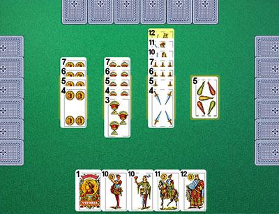 juego cinquillo Juego de Cartas, el Ocho Loco